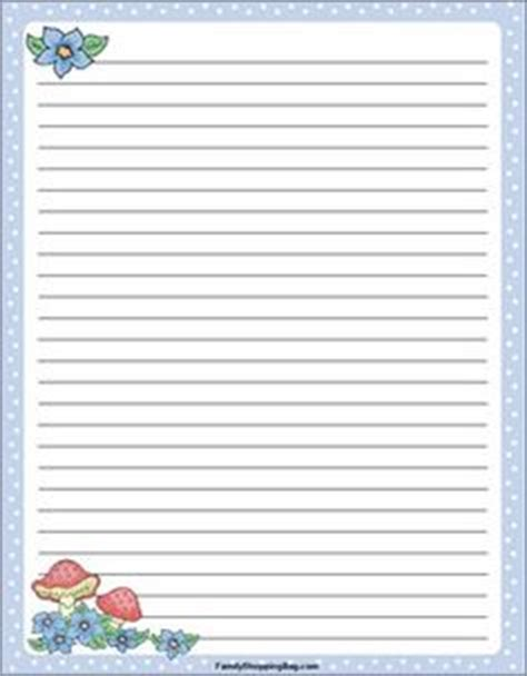 printable nature stationery teddy bear writing paper for kids kids circle