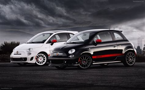 fiat 500 abarth 2012 widescreen car wallpaper 15