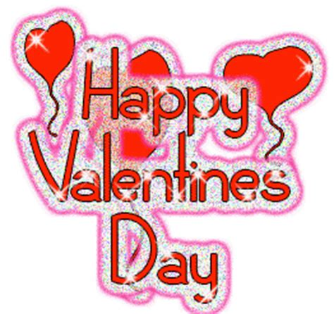 glitter valentines day graphics balloons happy valentines day