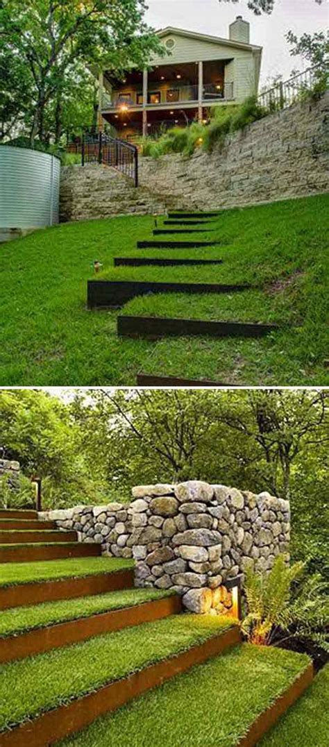 step by step diy garden steps and stairs the garden glove the best 23 diy ideas to make garden stairs and steps