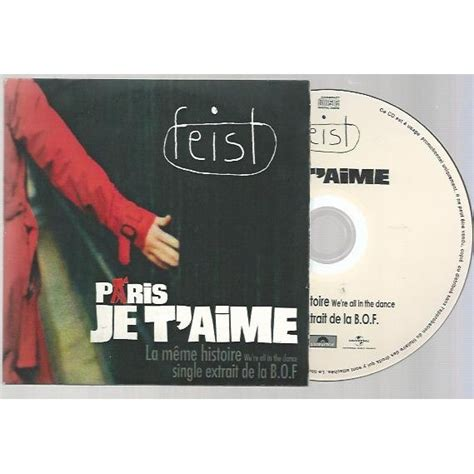 Feist La Meme Histoire - la m 234 me histoire we re all in the dance by feist cds