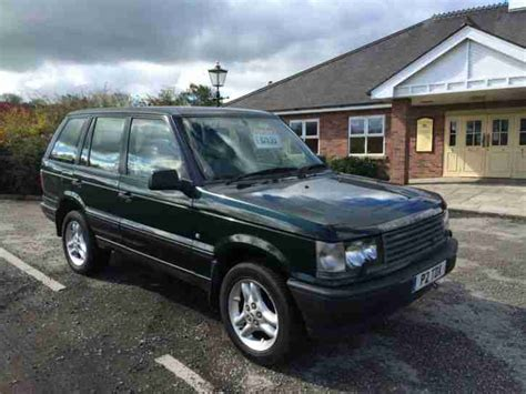 airbag deployment 1996 land rover range rover electronic toll collection 1996 land rover range rover 2 5 dse auto green private plate diesel