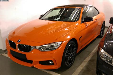 Bmw Orange by Bmw 4 Series Convertible In Orange