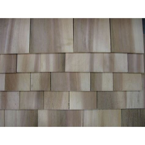Wood Shingles Home Depot by 16 In Do It Yourself Eastern White Cedar Shingles 235463