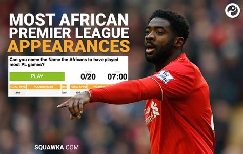 epl east african time quiz can you name the african players to have made the