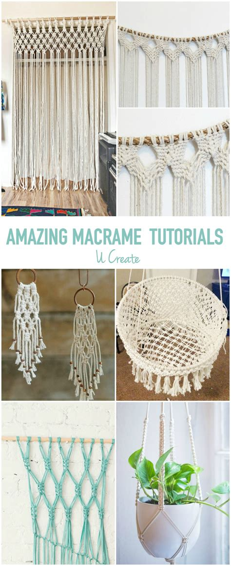Makrame Tutorial - amazing macrame tutorials u create bloglovin