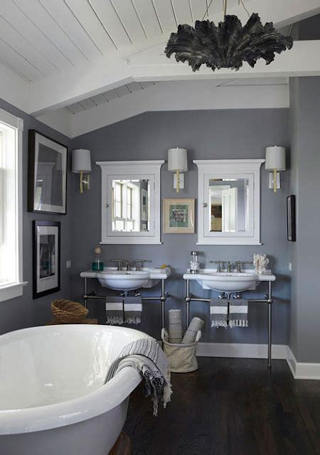 paint color manor house gray by farrow and 265 bathroom grey walls