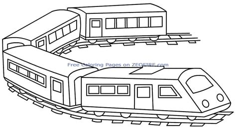 train coloring page koloringpages