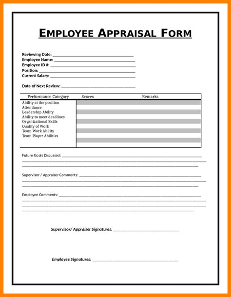 Monthly Profit And Loss Template Hunecompany Com Officer Performance Evaluation Template
