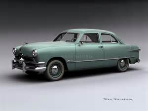 1950 Ford Tudor A Garagem Digital De Dan Palatnik The Digital Garage