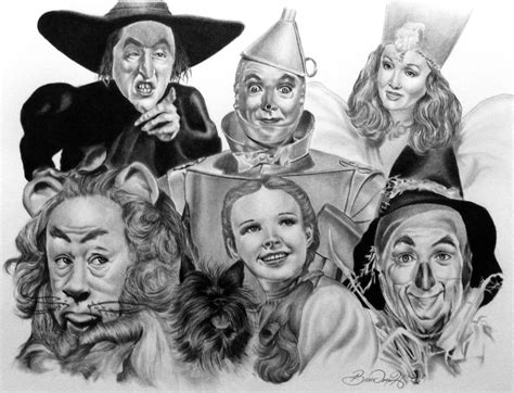 wizard of oz by 7brandon3 on deviantart