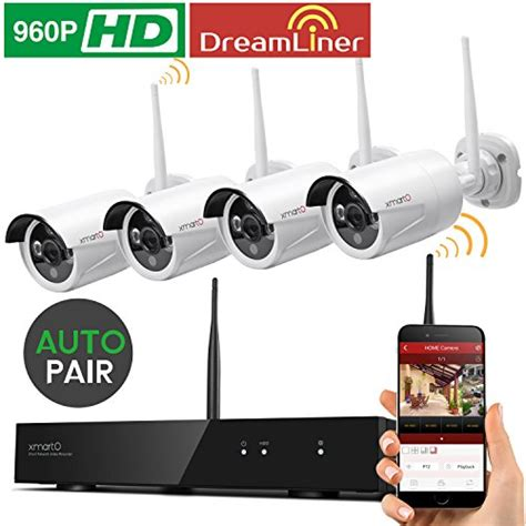 Cctv 8 Channep 960p Wireless liner 8ch expandable xmarto wos1384 8 channel 960p hd wireless security system with 4