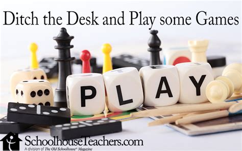 games to play at your desk ditch the desk and play some games the old schoolhouse