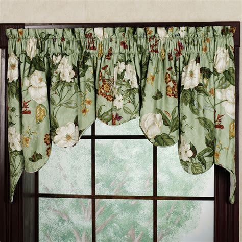 waverly valances garden duchess swag valance pair by waverly