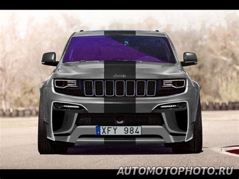 jeep grand modified modified jeep grand srt 8 wk2