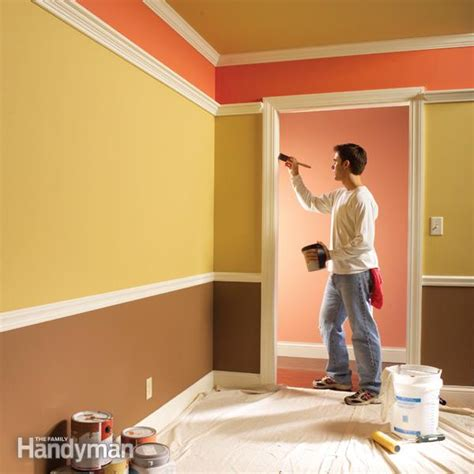 house painting techniques interior 10 tips for a perfect paint job the family handyman