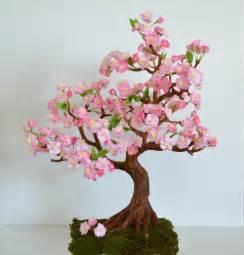 Ceramic Beads For Jewelry Making - cherry blossom clay flower art