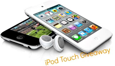 Free Ipod Touch Giveaway - contest win an ipod touch or an ipadiphoneglance