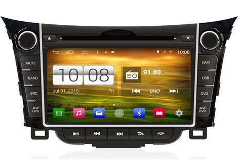 android unit android os navigation radio player for hyundai i30 2013 aftermarket navigation car stereo