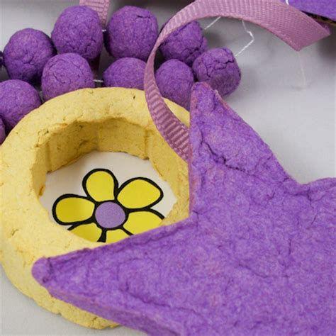 Paper Pulp Crafts - how to make papier mache pulp craft recipe