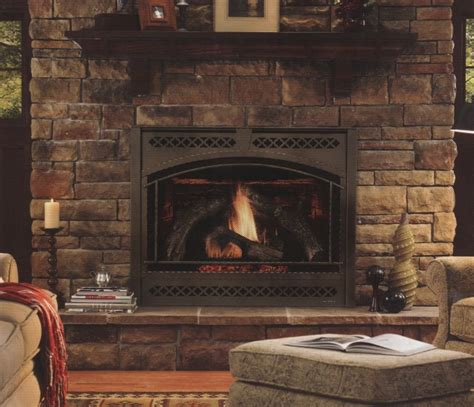 living room modern direct vent gas fireplace design