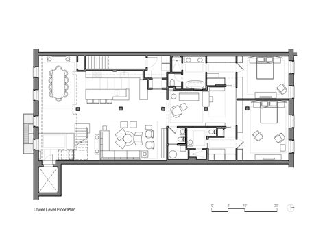 architect floor plans tribeca loft andrew franz architect archdaily