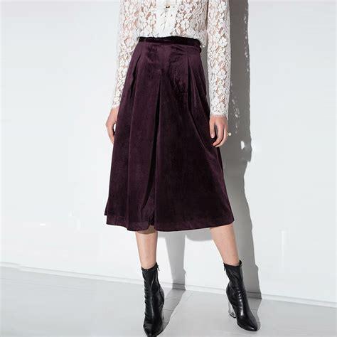Buy 1 Skirt Get 1 Velvet Wide Skirt popular velvet skirt buy cheap velvet skirt lots from china velvet skirt suppliers