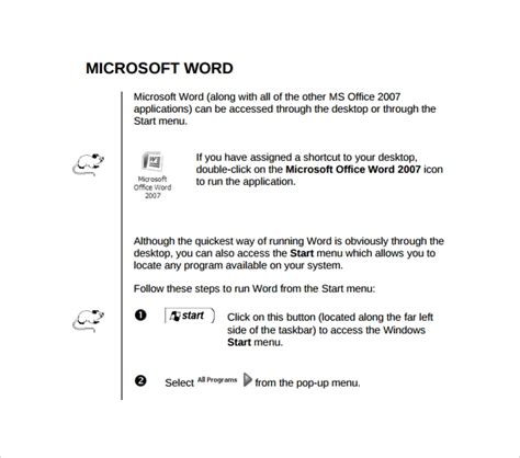 8 Technical Manual Templates To Download Sle Templates Manual Template Microsoft Word