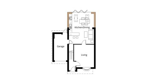 kitchen extension floor plans home remodeling kitchen extension bi fold doors project