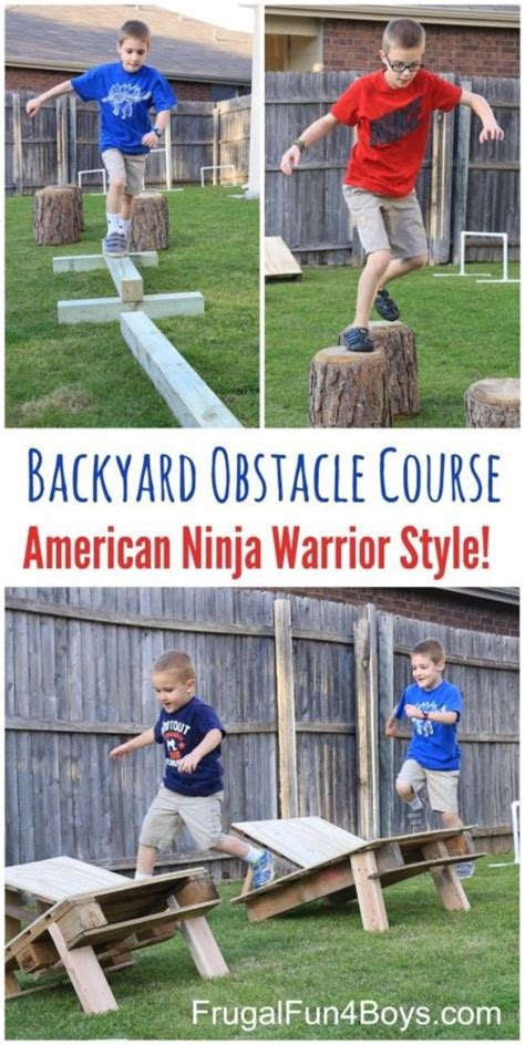 Best Backyard For Adults by 25 Best Ideas About Backyard Obstacle Course On
