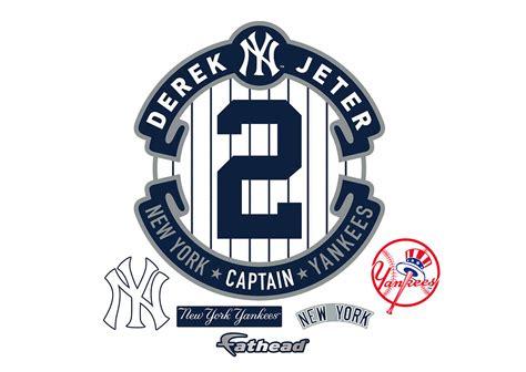 Derek Jeter Wall derek jeter logo wall decal shop fathead 174 for new york