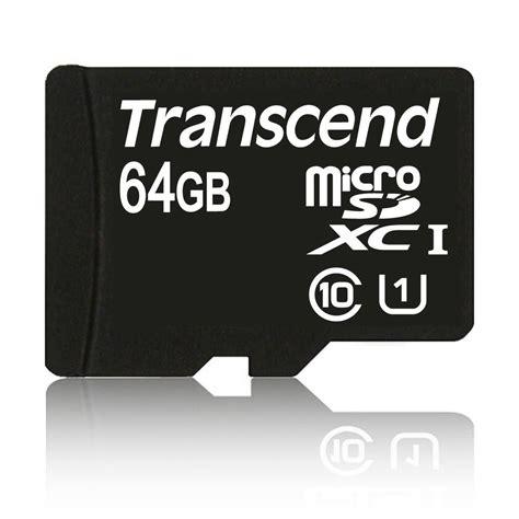 Microsd Transcend 64gb Class 10 transcend 64gb microsdhc class 10 uhs i 300x premium ts64gusdu1 centre best pc