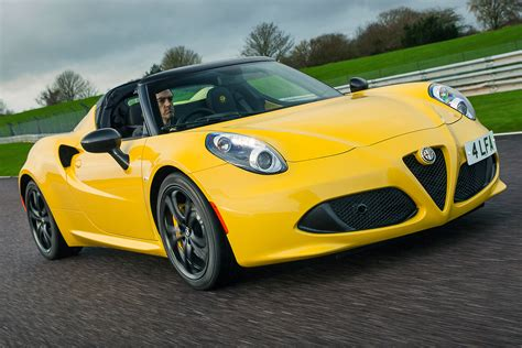 Alfa Romeo 4 C by Alfa Romeo 4c Spider 2016 Review Pictures Auto Express