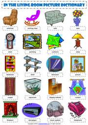Is Livingroom One Word by Living Room Esl Printable Worksheets And Exercises
