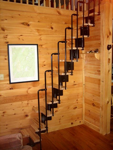 Log Cabin Floor Plans With Loft by Fontanot Arke Diy Staircase Kits Online