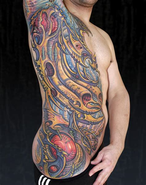 biomechanical tattoo artists in chicago guy aitchinson the ink slinger artist interview big