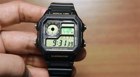 Jam Tangan Casio Ae 1200wh 1b casio standard ae 1200wh 1bv indowatch co id