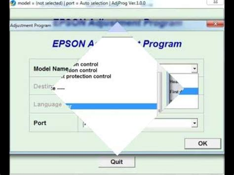 resetter printer not responding reset printer epson all resetter epson l series reset