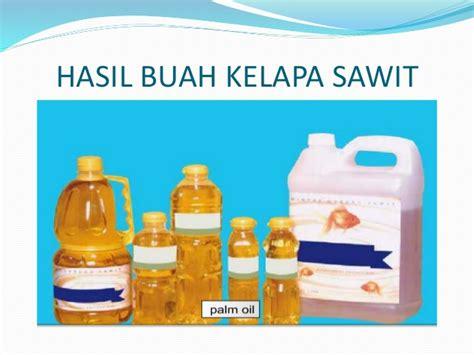 Prediksi Minyak Kelapa Sawit buah minyak kelapa sawit