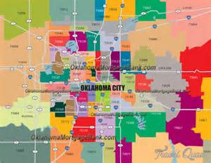 Edmond Zip Code Map by Oklahoma City Metro Map Travel Holiday Map