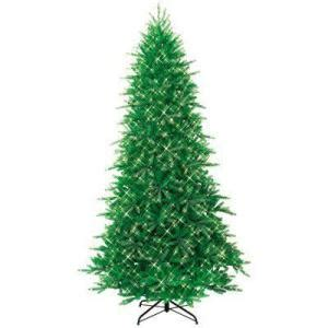 pre lit artificial trees from home depot