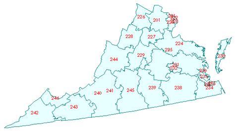virginia zip code map va va zip code map