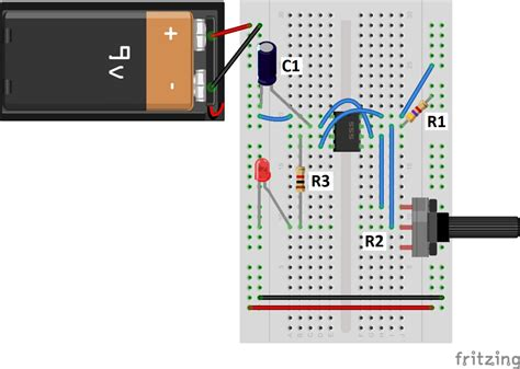 capacitor calculator for led 555 timer basics astable mode