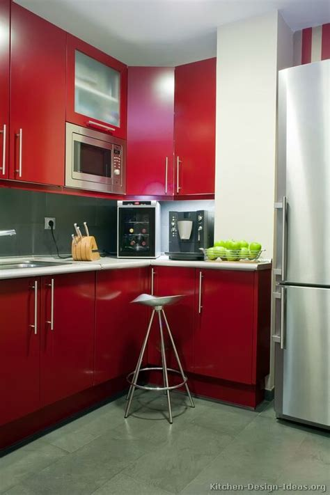 kitchen cabinets red red kitchen cabinets casual cottage