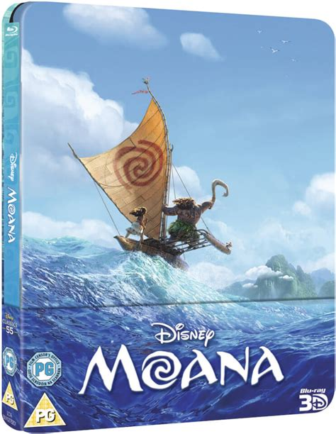 Kaos 3d Fox Limited Edition moana 3d includes 2d version zavvi exclusive limited edition steelbook zavvi