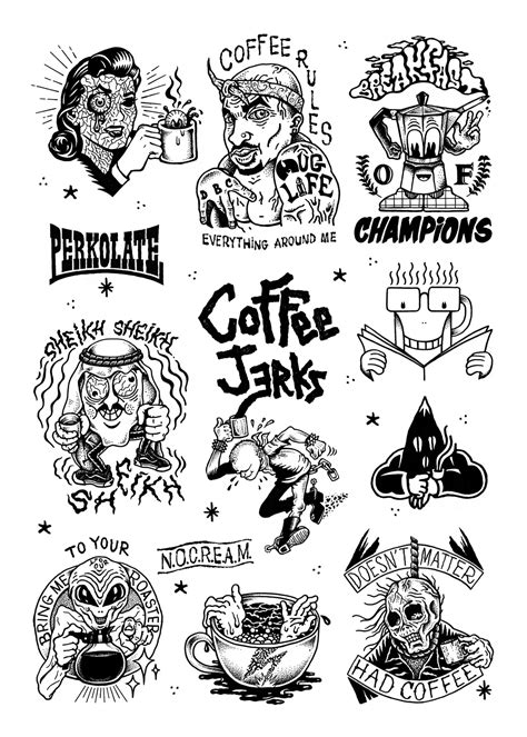 coffee tattoo tattoo collections