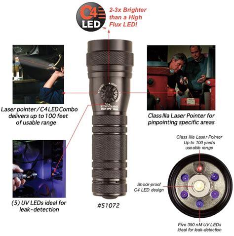 streamlight multi ops flashlight streamlight multi ops task series c4 led laser uv
