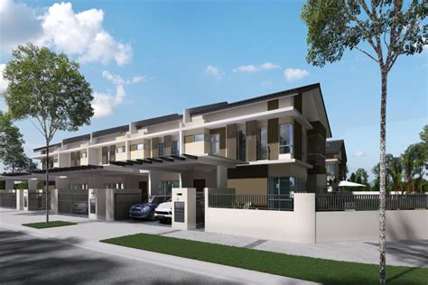 santai bisnes properties terengganu redup santai bandar ainsdale new double storey