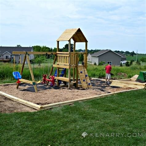 backyard play ground diy backyard playground how to create a park for kids