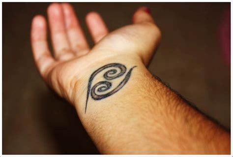 cancer wrist tattoos 54 zodiac sign wrist tattoos
